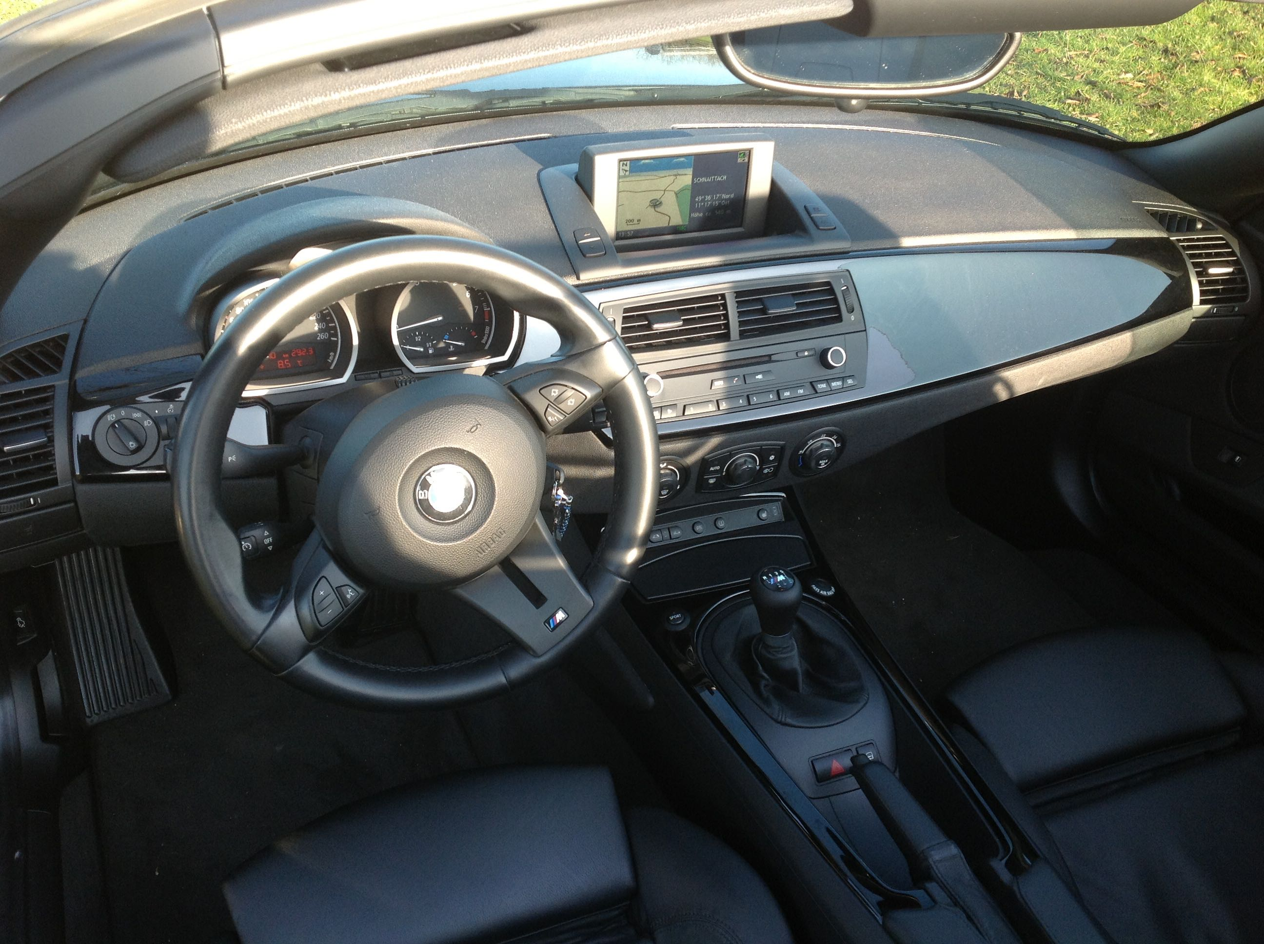 Bmw Z4 E85 Biete Z4 Roadster 3 0si Saphirschwarz M